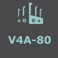 stainless steel V4A-80
