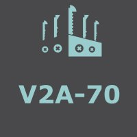 stainless steel V2A-70